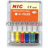 ACE H-FILE NI-TI 15-40/25mm -KlasseMedical