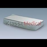 Cutie sterilizare din inox - 180x80x40mm fara maner -KlasseMedical
