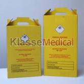 Cutii carton deseuri infectioase - KlasseMedical