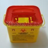 Recipient plastic deseuri taietoare-intepatoare - KlasseMedical