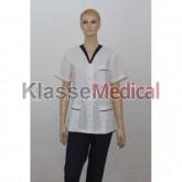 Bluza medic cu capse -KlasseMedical