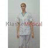 Bluza medic cu fermoar -KlasseMedical