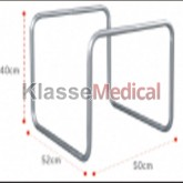 Cadru pentru pat din aluminiu -KlasseMedical
