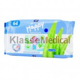 Servetele umede Happy Sensitive aloe - KlasseMedical